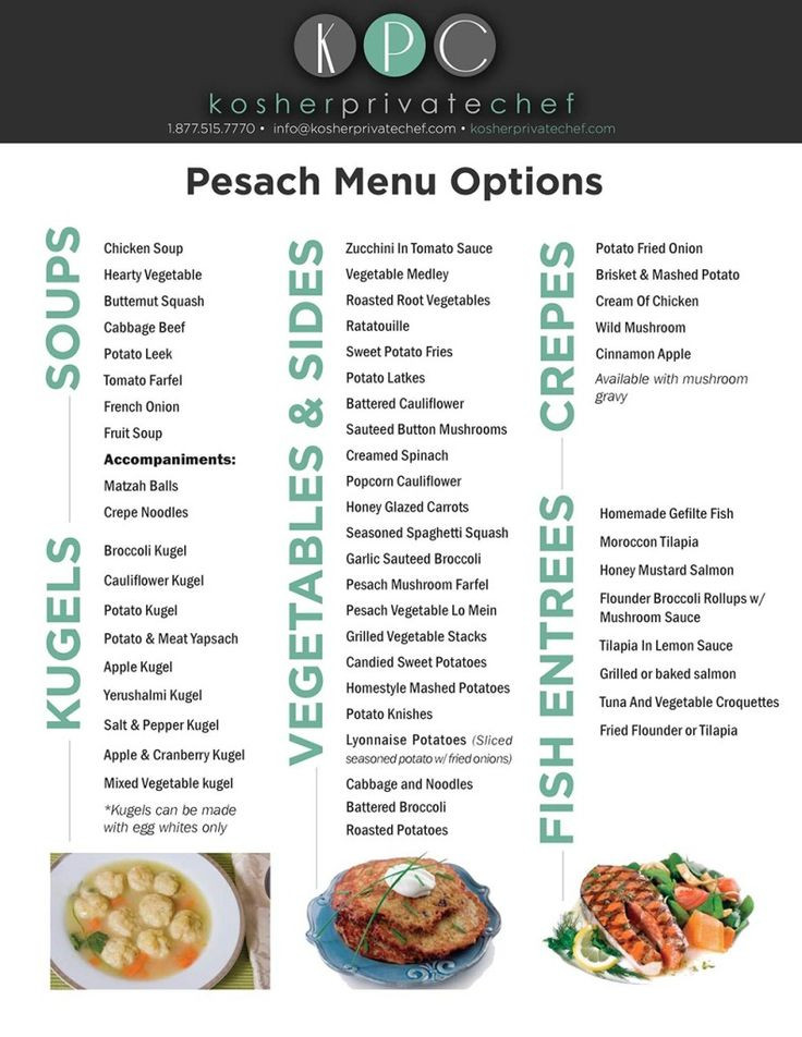 Passover Dinner Menus  Pin by Leah E on Holidays