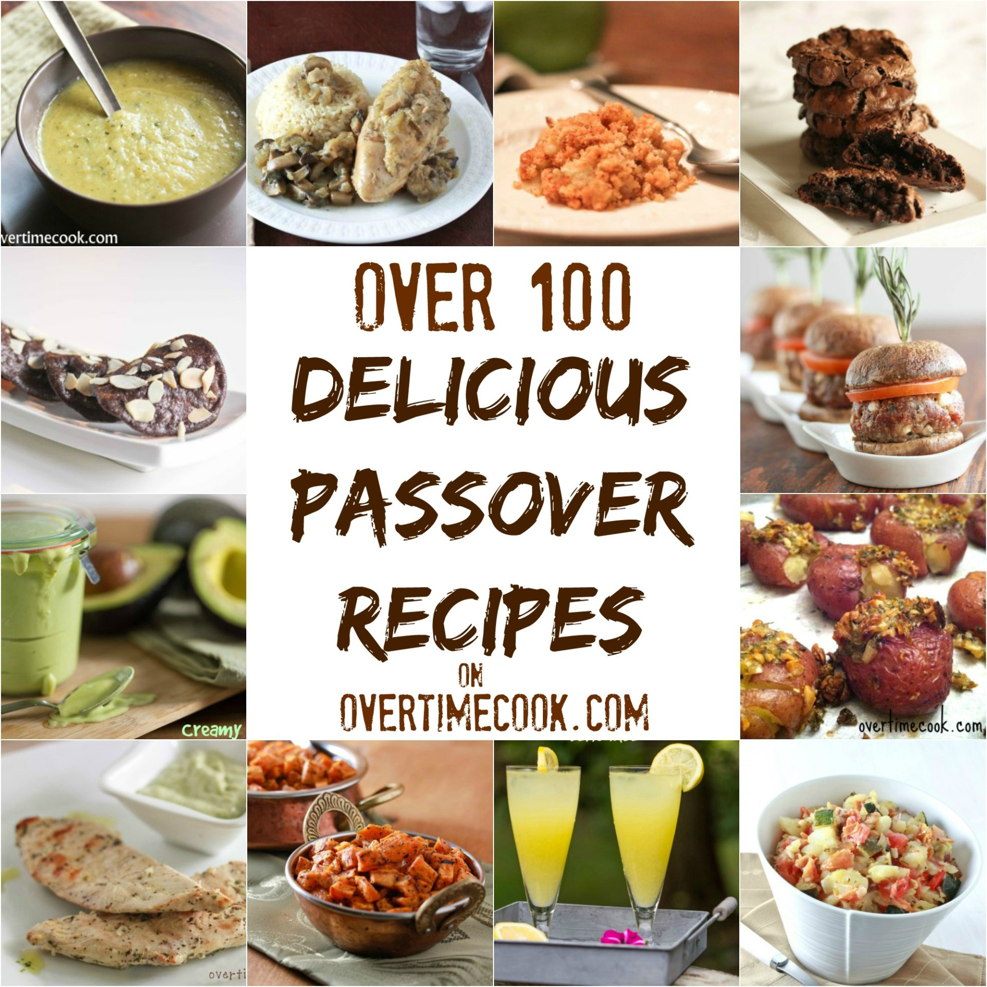Passover Dinner Recipes  Over 100 Delicious Passover Recipes Overtime Cook