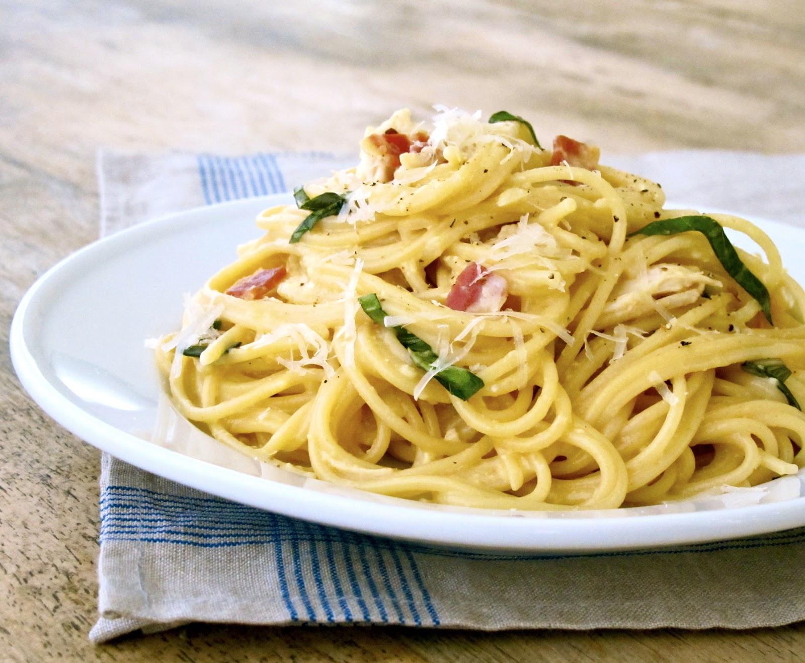 Pasta Dishes For Dinner  Jenny Steffens Hobick Chicken Carbonara