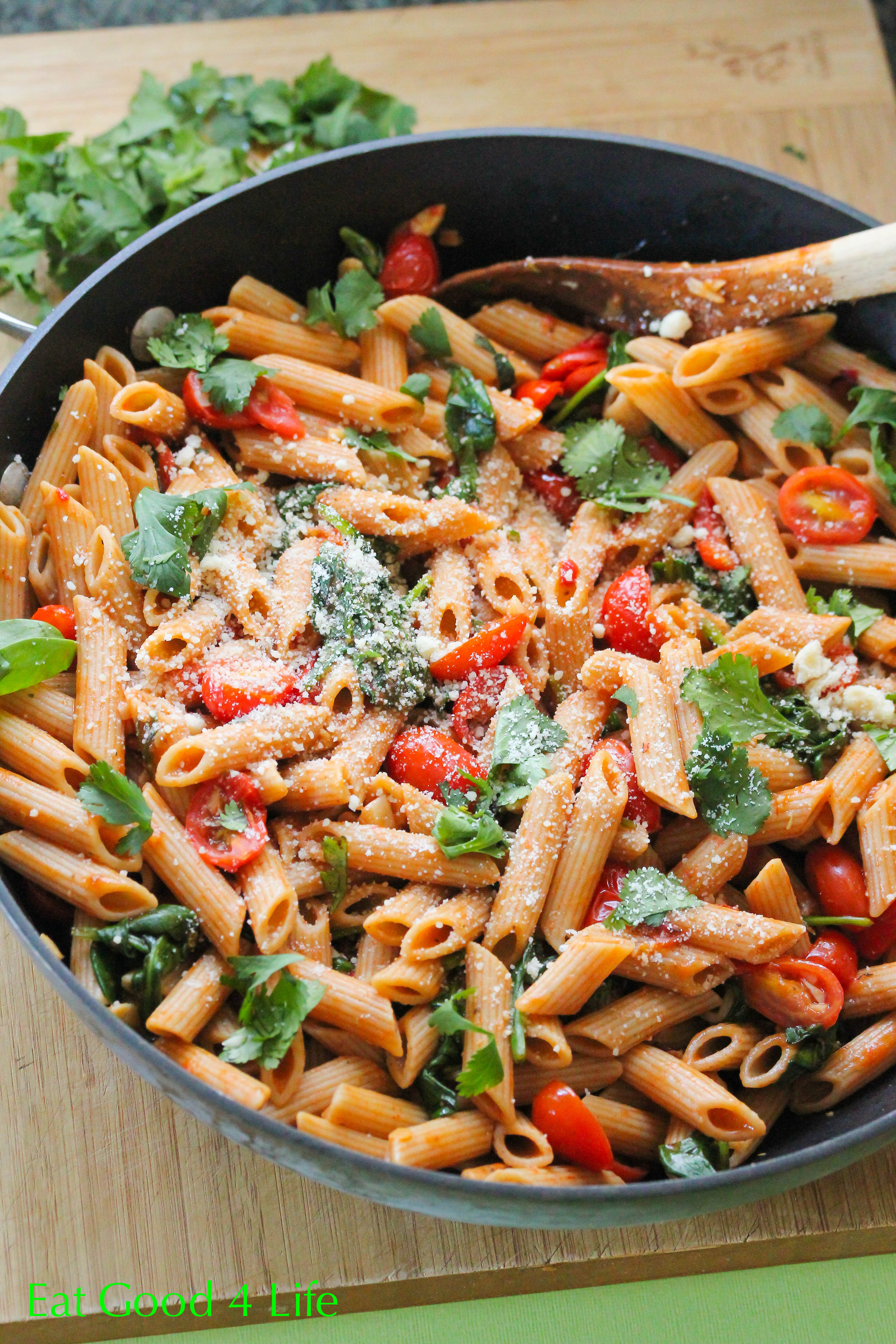 Pasta Dishes For Dinner  Fire roasted tomato pasta