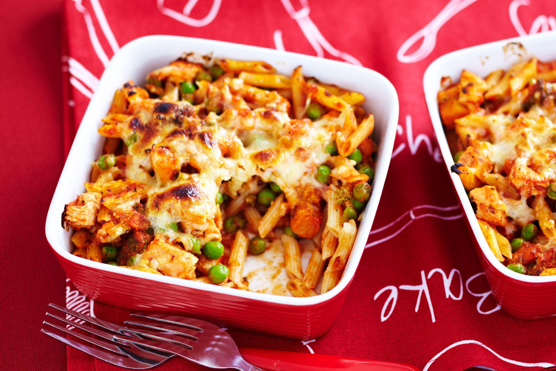 Pasta Recipes For Kids  easy chicken pasta
