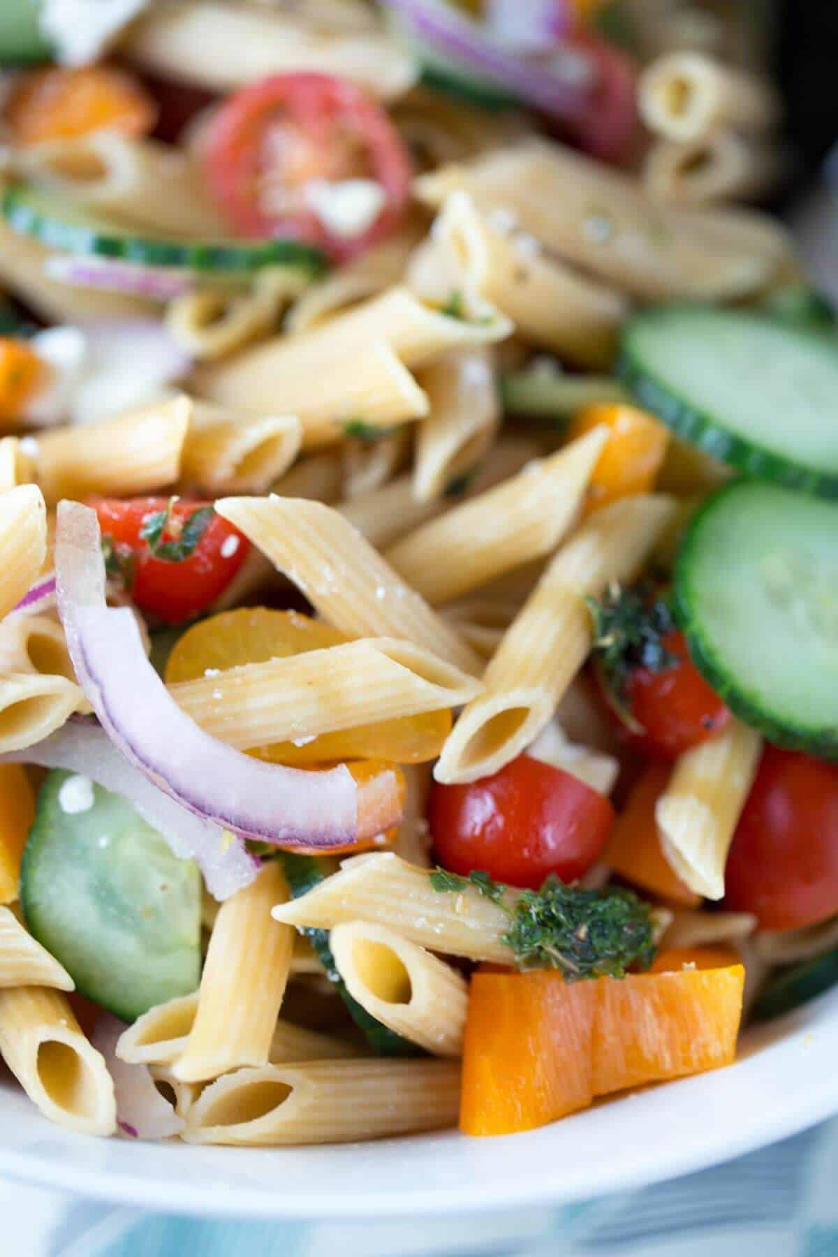 Pasta Salad Recipes Easy  easy greek pasta salad