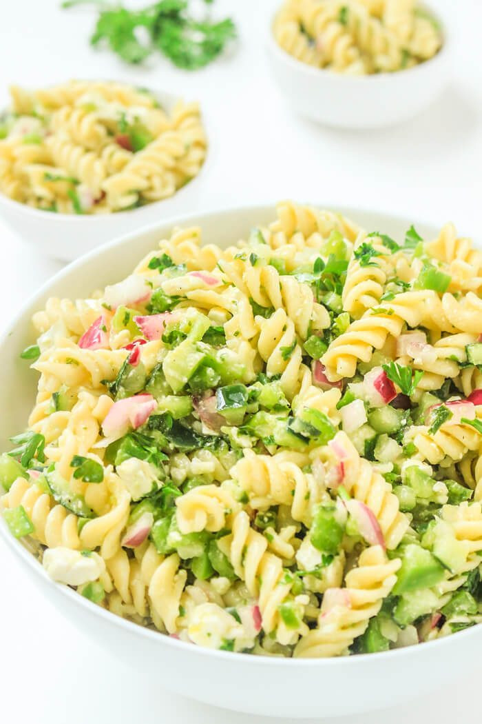 Pasta Salad Recipes Easy  Cold Italian Pasta Recipes Stunning Easy Pasta Salad