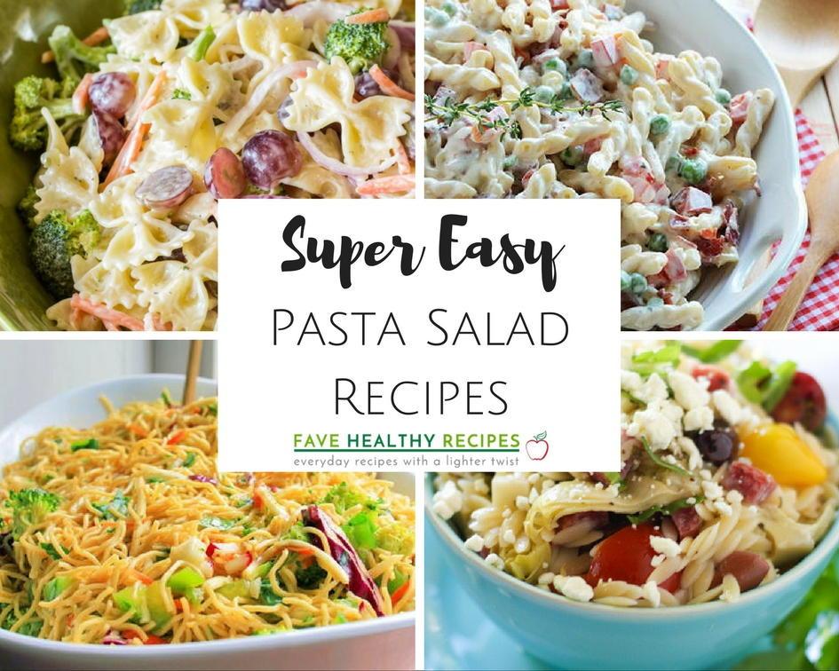 Pasta Salad Recipes Easy  16 Super Easy Pasta Salad Recipes