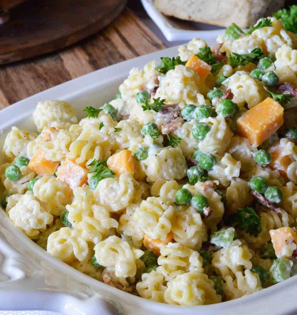 Pasta Salad Recipes Easy  Easy Pasta Salad Recipe WonkyWonderful