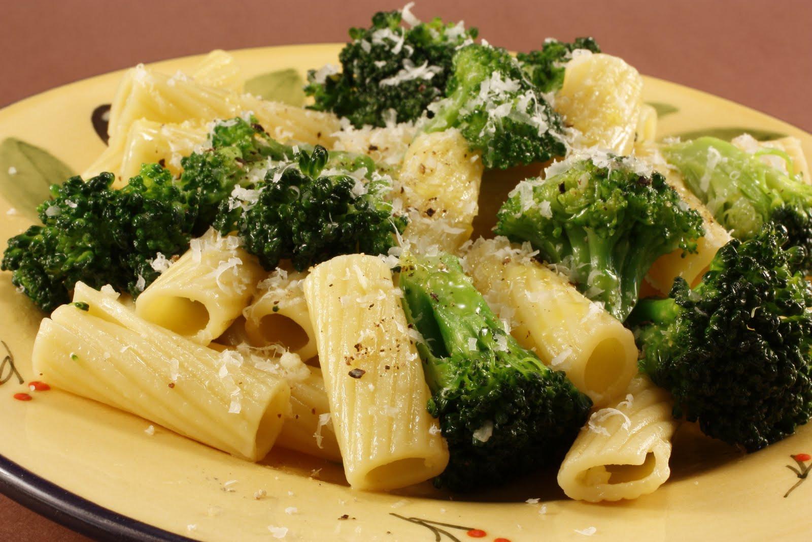 Pasta With Broccoli  Chef Chuck s Cucina Chef Chuck s Pasta and Broccoli