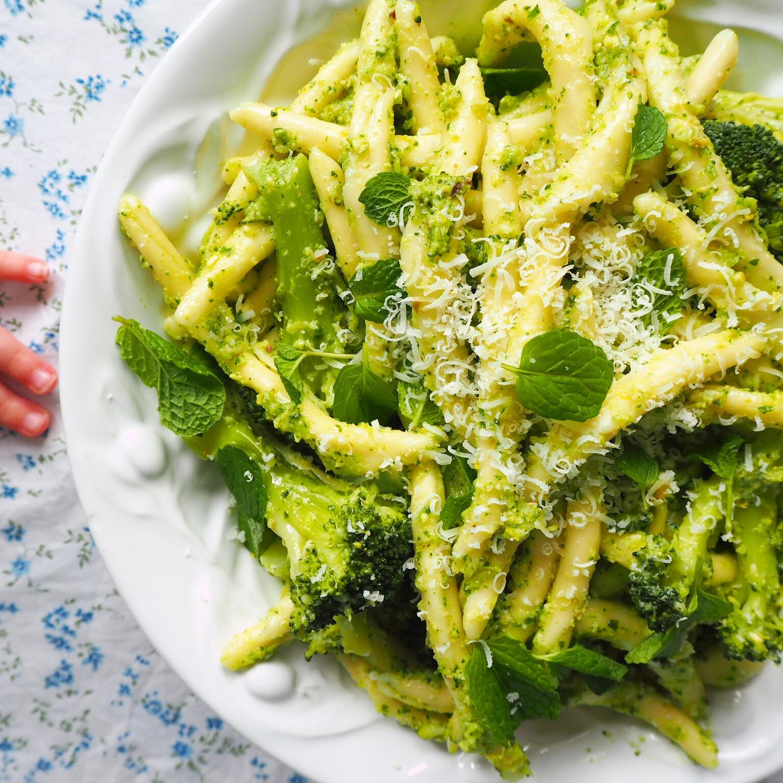 Pasta With Broccoli  pasta with broccoli pesto