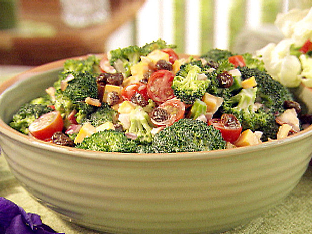 Paula Deen Broccoli Salad  I Want To Be Domestic Broccoli Salad