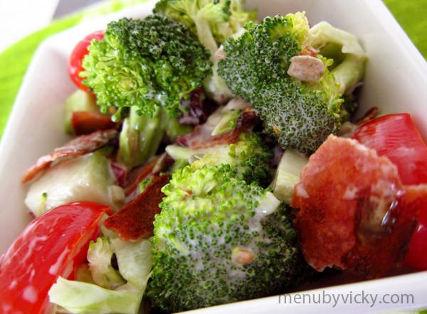 Paula Deen Broccoli Salad  Broccoli Salad – menubyvicky