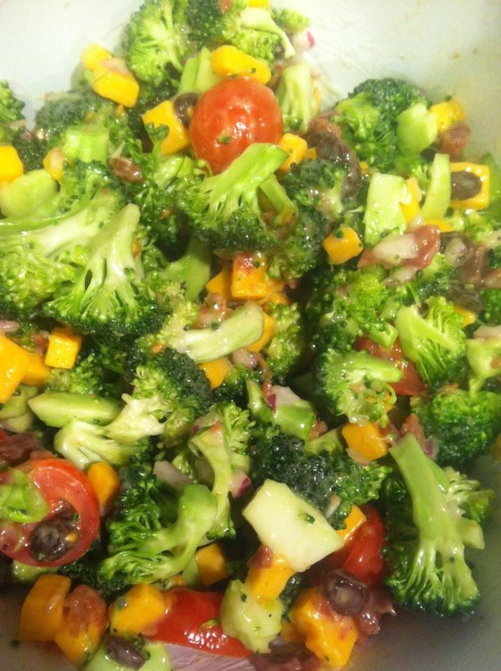 Paula Deen Broccoli Salad  jetaimelautomne — Paula Deen Broccoli Salad