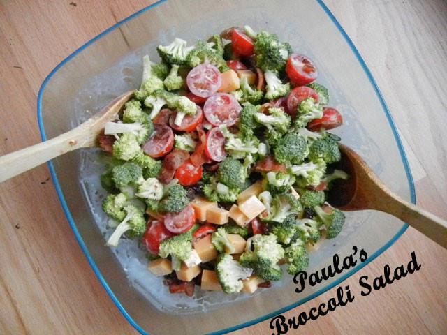 Paula Deen Broccoli Salad  curridiculum Paula Deen Broccoli Salad