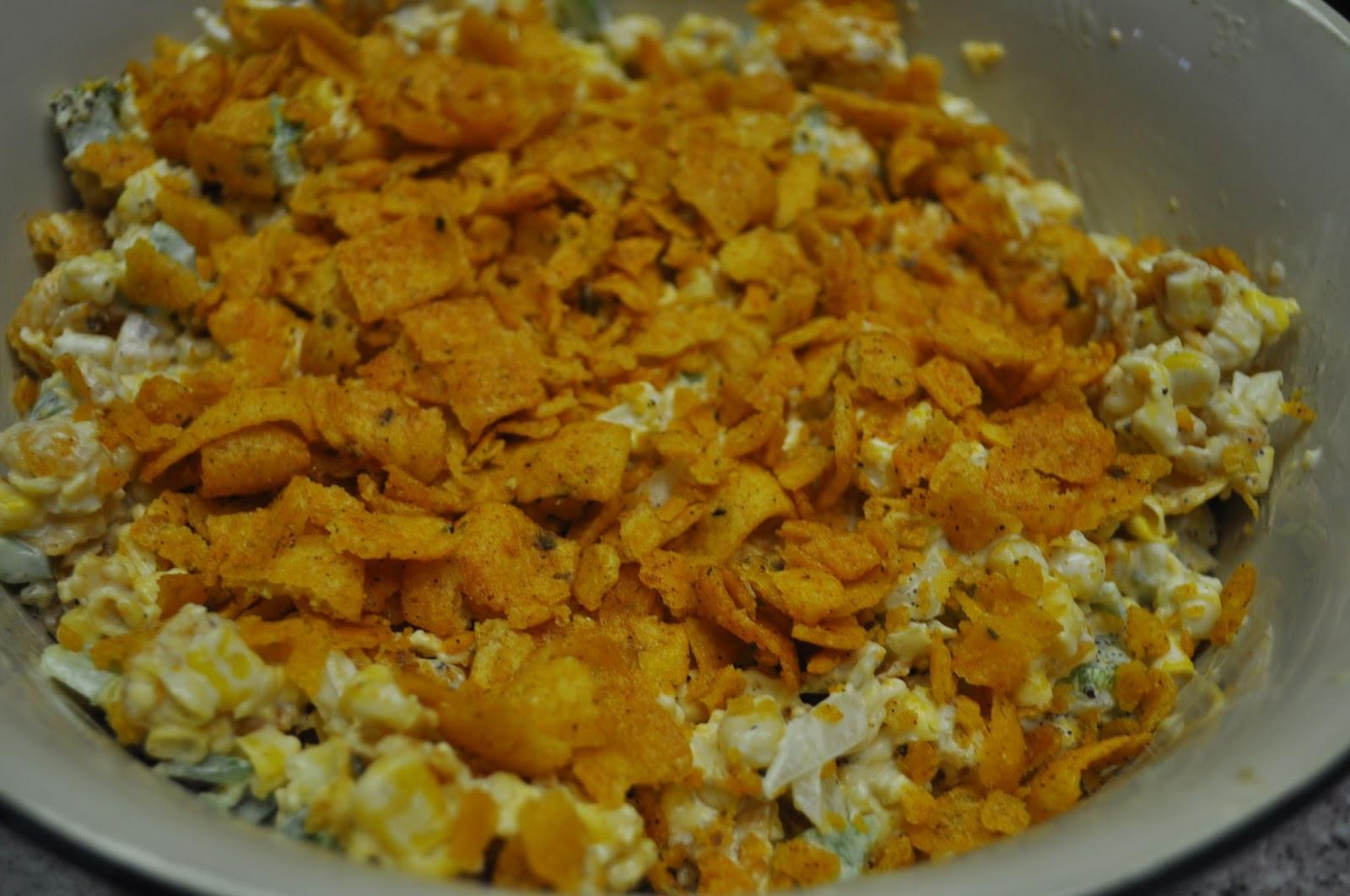 Paula Deen Corn Salad  Beth s Favorite Recipes Paula Deen Frito and Corn Salad
