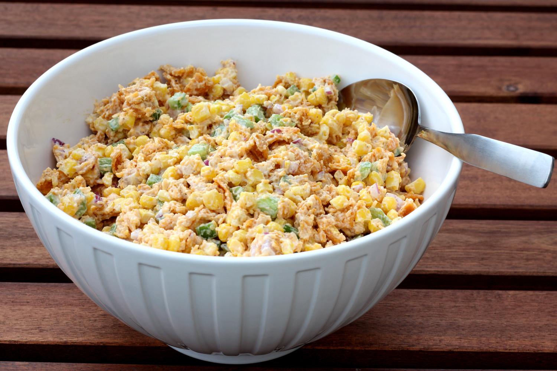 Paula Deen Corn Salad  That Winsome Girl Chili Cheese Frito Corn Salad
