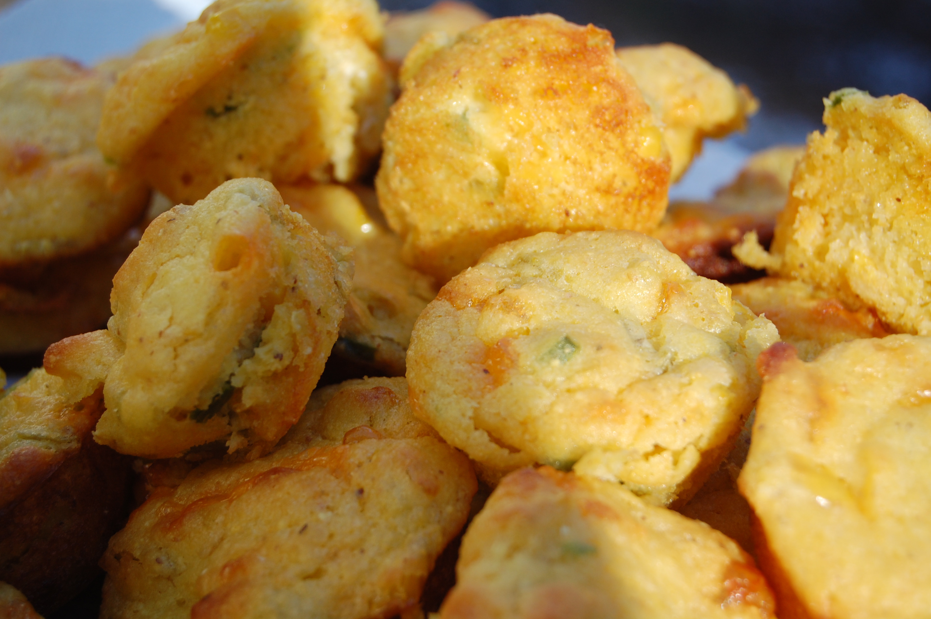 Paula Deen Cornbread  Cornbread Muffins with Cheese and Chilies another Paula