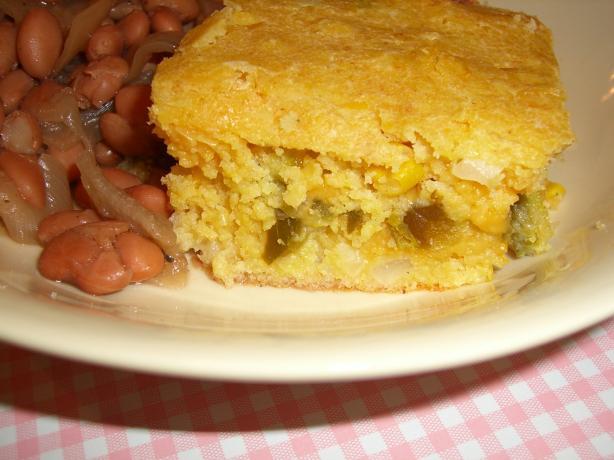 Paula Deen Cornbread  Paula Deens Layered Mexican Cornbread Recipe Food