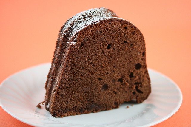 Paula Deen Cream Cheese Pound Cake  Food Librarian Paula Deen s Chocolate Cream Cheese Pound