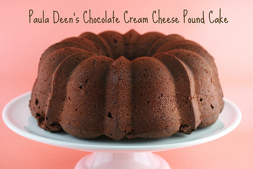 Paula Deen Cream Cheese Pound Cake  Food Librarian