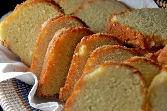 Paula Deen Lemon Pound Cake  Stylish Cuisine Grandmother Paula's Sour Cream Pound Cake