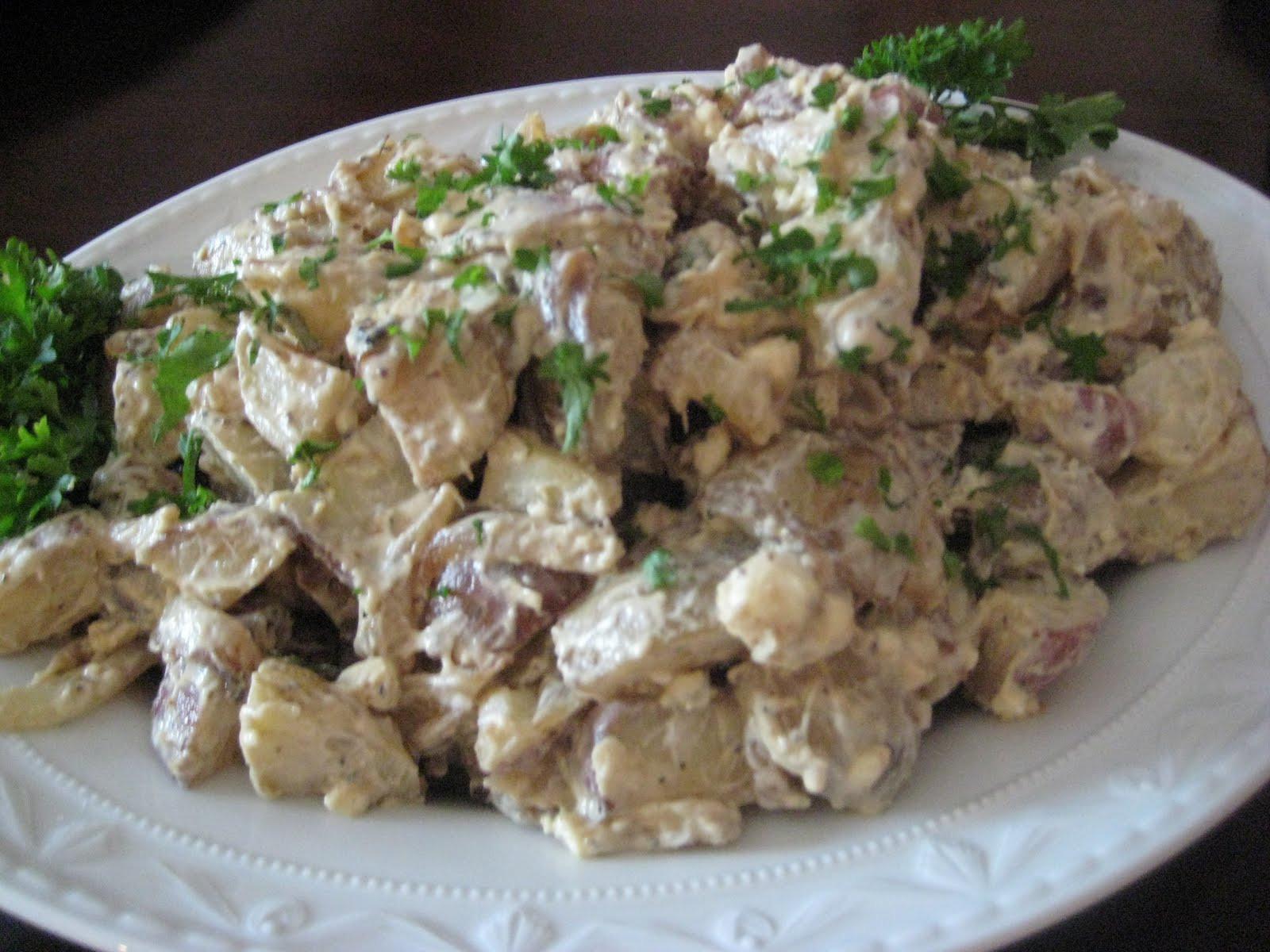 Paula Deen Potato Salad  paula deen blue cheese potato salad