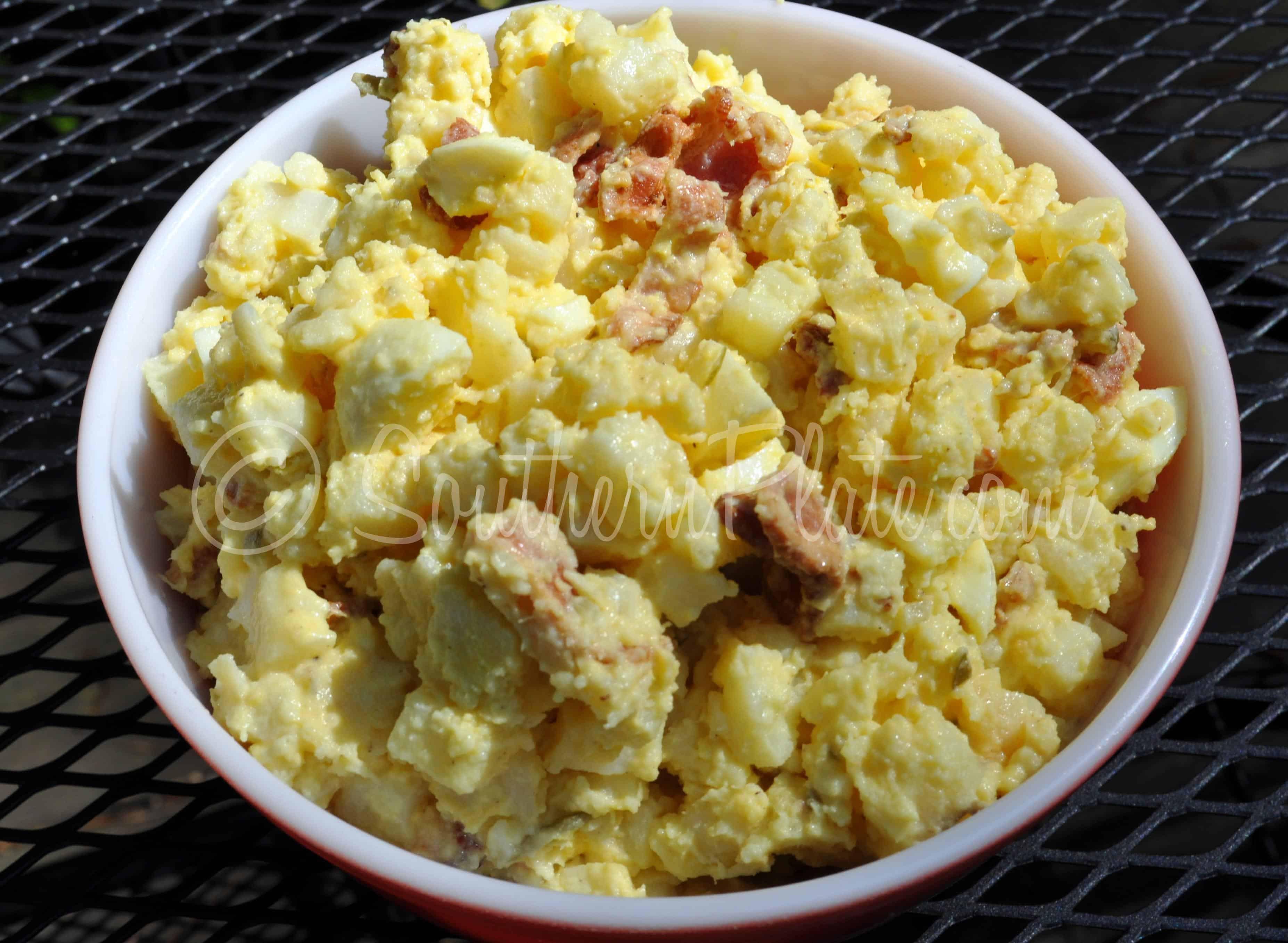 Paula Deen Potato Salad  paula deen potato salad