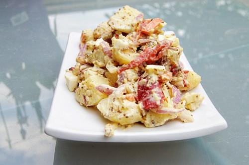 Paula Deen Potato Salad  Paula s Potato Salad biscuits and such