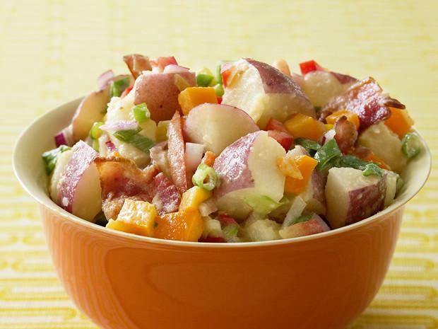 Paula Deen Potato Salad  Red Potato Salad With Bacon Recipe Paula Deen Food Network