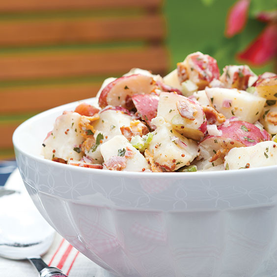 Paula Deen Potato Salad  Red Potato Salad Paula Deen Magazine