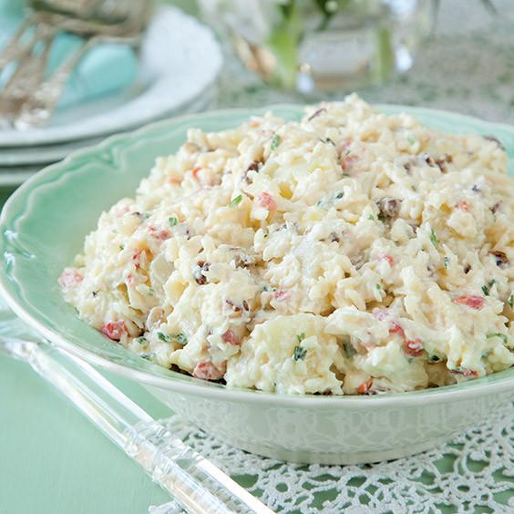 Paula Deen Potato Salad  White Pimiento Cheese Potato Salad Paula Deen Magazine