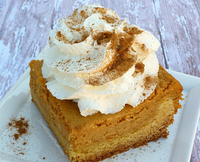 Paula Deen Pumpkin Pie  Ooey Gooey Pumpkin Cake