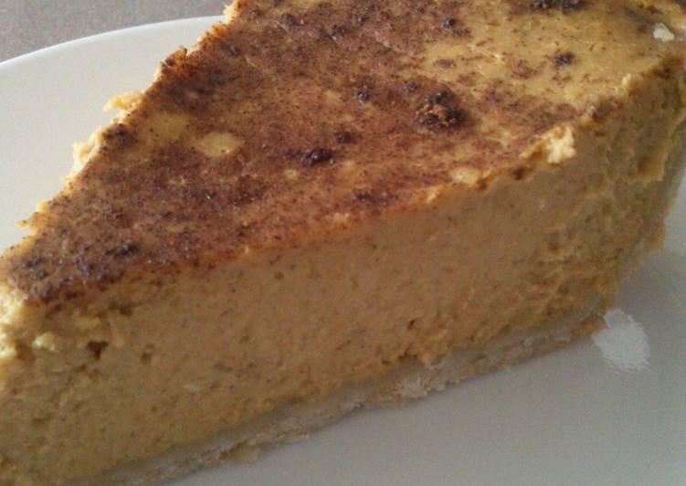 """Paula Deen Pumpkin Pie  """" Paula Dean s Pumpkin Pie """" Recipe by Pam Pammie"""