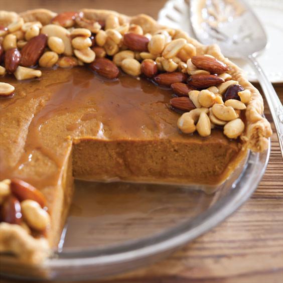 Paula Deen Pumpkin Pie  Salted Caramel Nut Pumpkin Pie Paula Deen Magazine