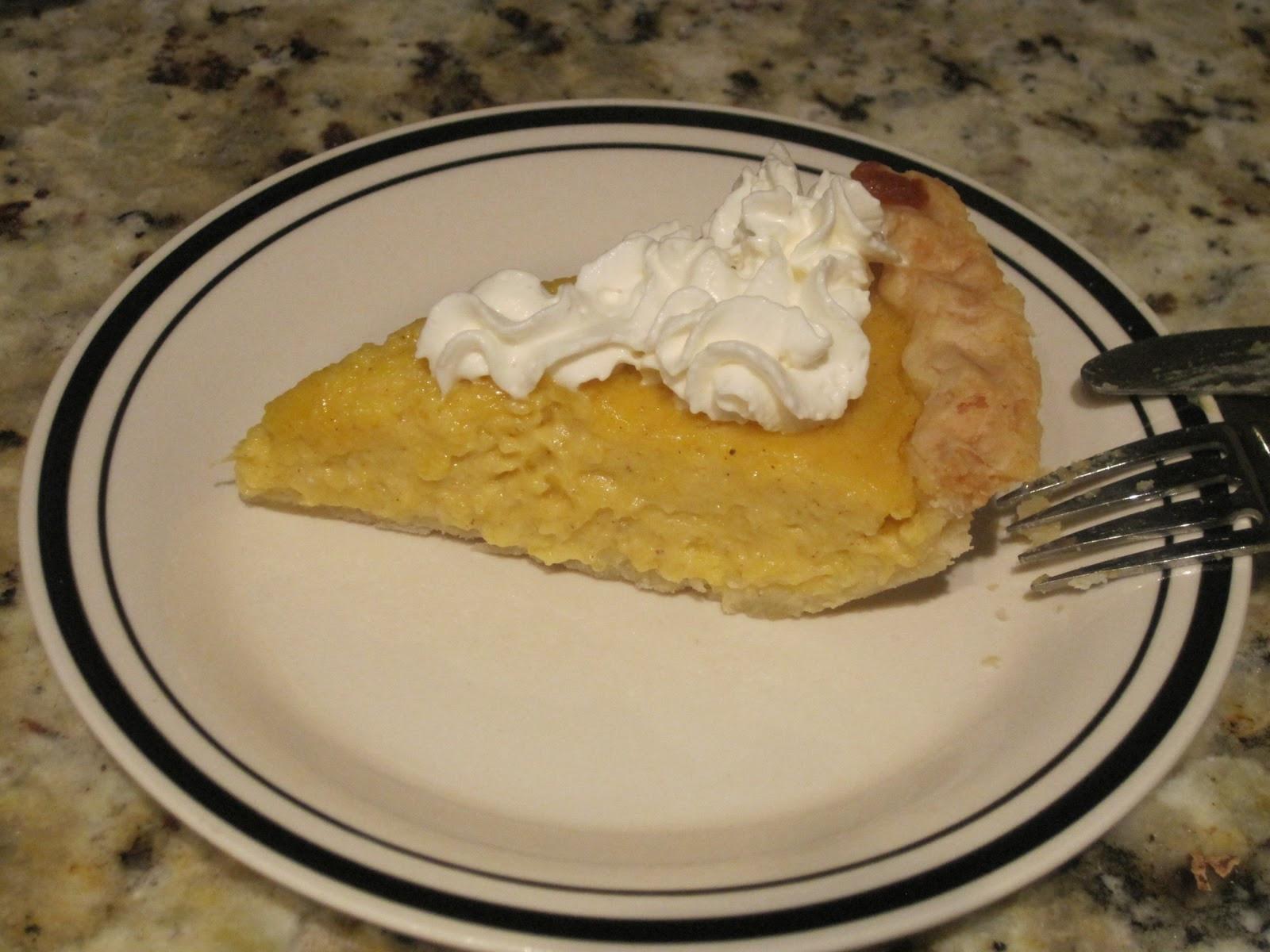 Paula Deen Pumpkin Pie  Probably Not Martha Pumpkin Pie Paula Deen Style