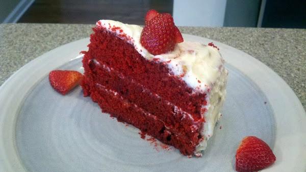 Paula Deen Red Velvet Cake  Paula Deen s Red Velvet Cake
