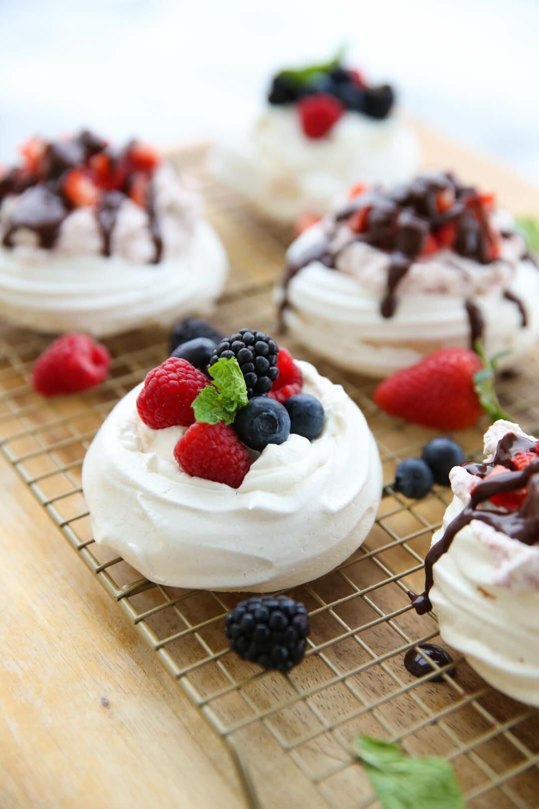 Pavlova Dessert Recipe  Easy Pavlova Recipe with Berries and Cream