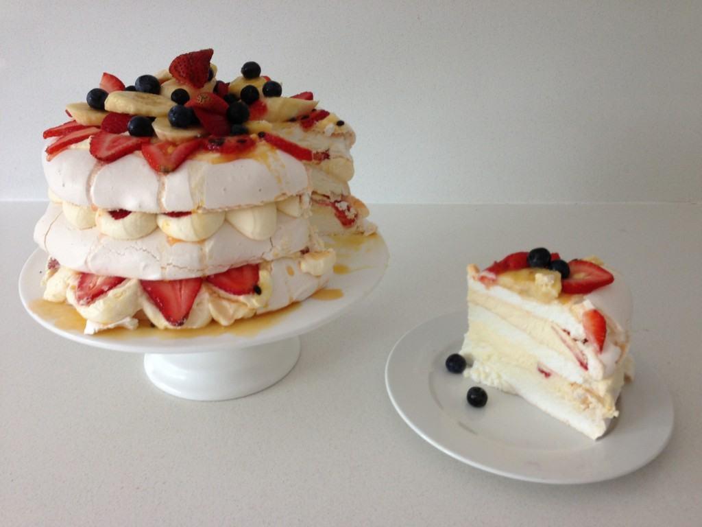 Pavlova Dessert Recipe  HowToCookThat Cakes Dessert & Chocolate