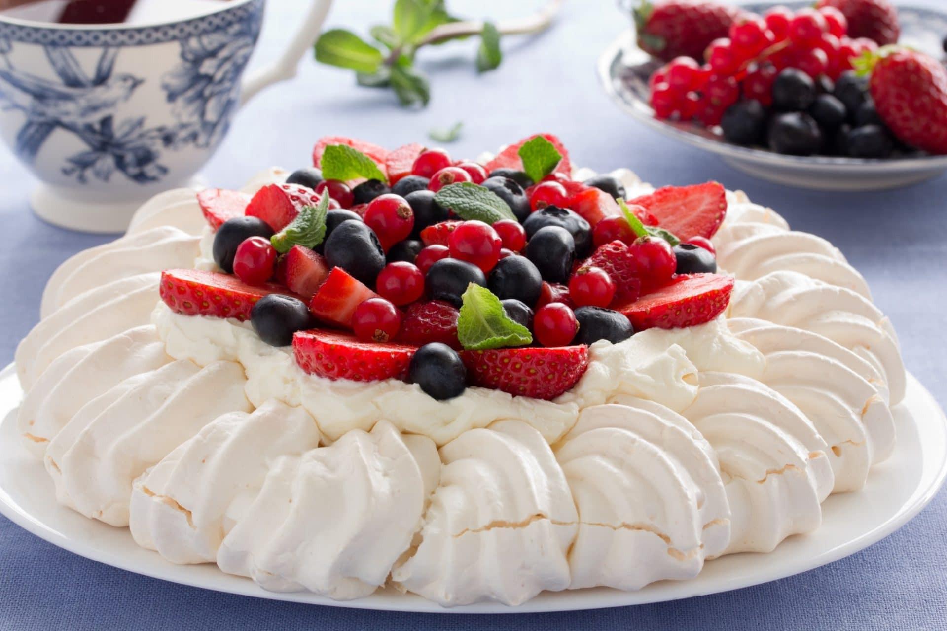 Pavlova Dessert Recipe  A Delicious Introduction To Iconic Australian Desserts