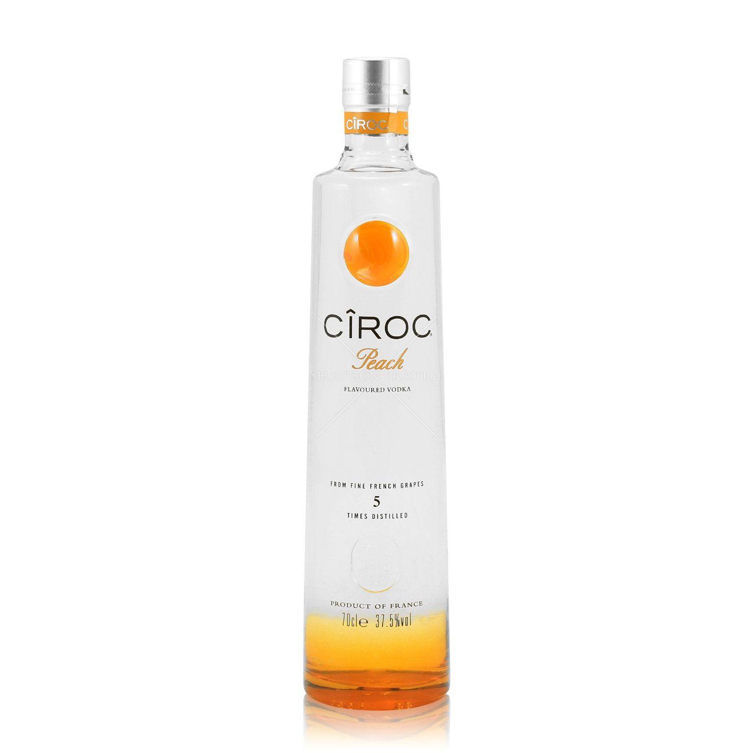 Peach Ciroc Drink Recipes  Cîroc Peach 0 7L 37 Vol Ciroc Vodka