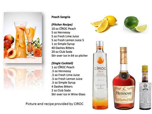 Peach Ciroc Drink Recipes  Vodka Drinks