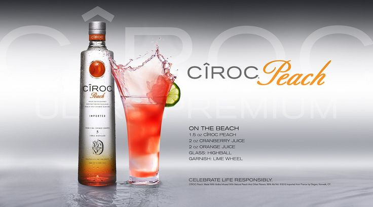 Peach Ciroc Drink Recipes  EthnoNightlife OPEN BAR
