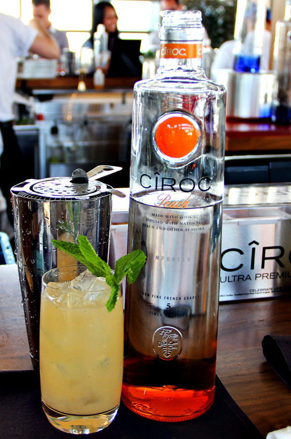 Peach Ciroc Drink Recipes  Mixology Summer School With Cîroc Ultra Premium Vodka