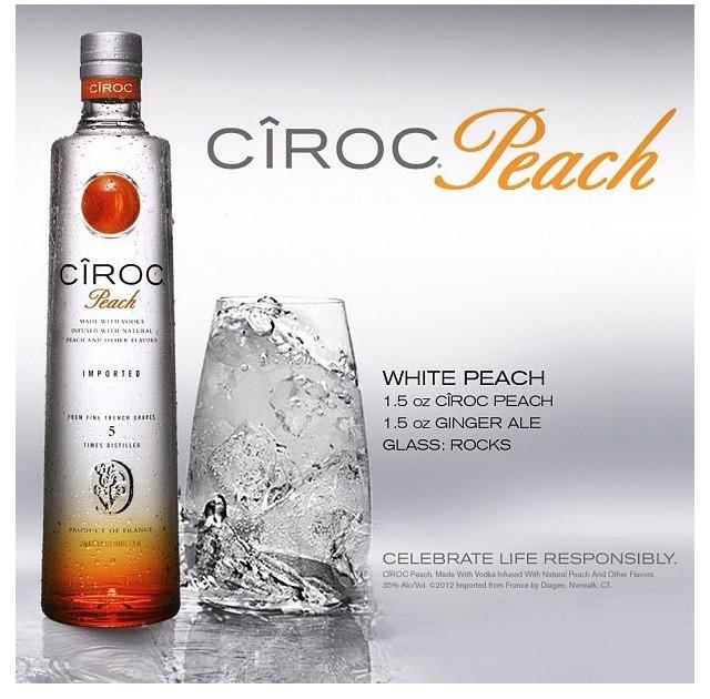 Peach Ciroc Drink Recipes  21 best Ciroc Drinks images on Pinterest