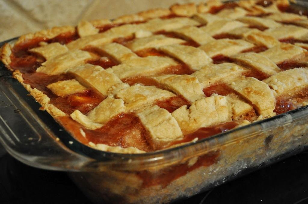Peach Cobbler Pie  double crust peach pie recipe