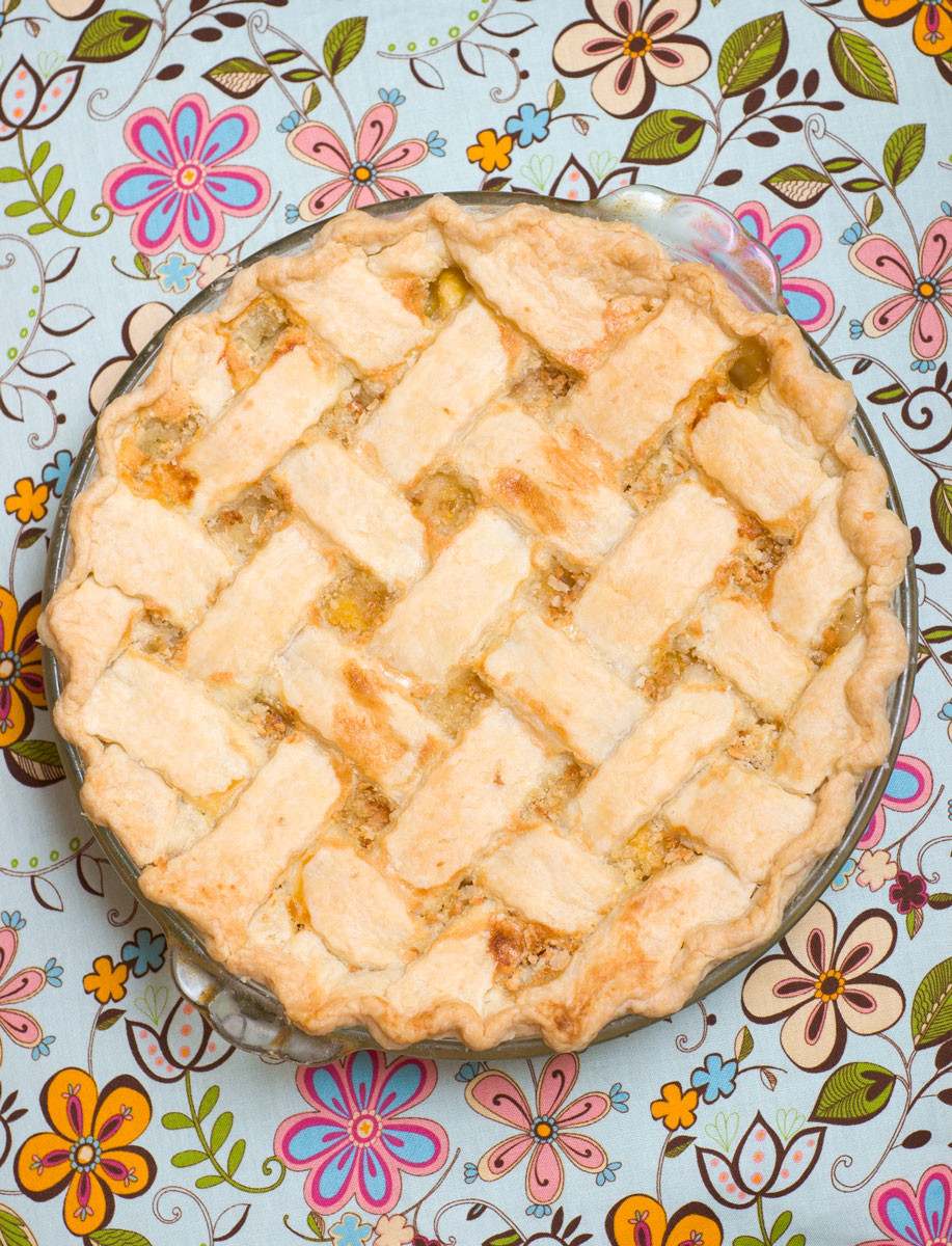 Peach Cobbler Pie  Sugar & Spice by Celeste Bubba s Peach Cobbler Pie Fit