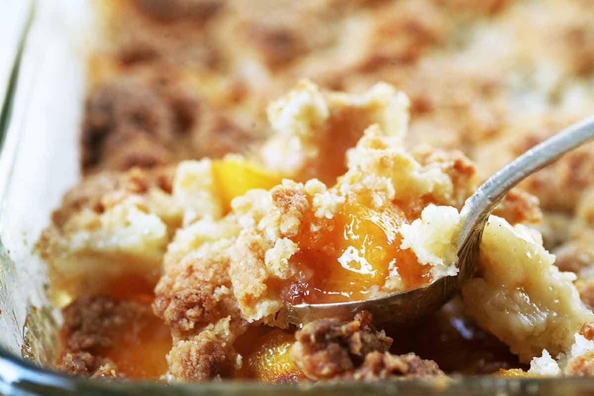 Peach Cobbler Pie  Peach Cobbler Recipe