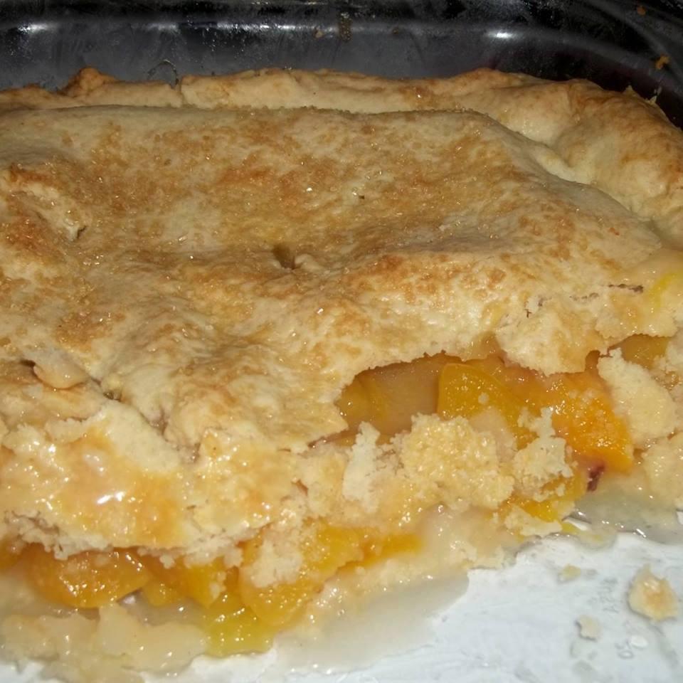 Peach Cobbler Pie  My Grandmother's Fresh Peach Cobbler – Best Cooking