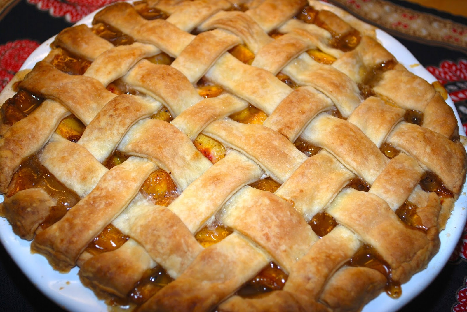 Peach Cobbler With Pie Crust  The Flying Foo Peach Cobbler with Vodka Pie Crust