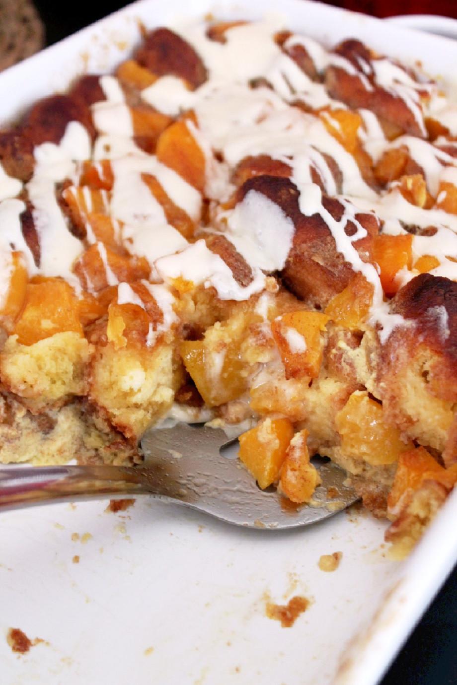 Peach Desserts Recipes  Peach Cobbler Bread Pudding Creole Contessa