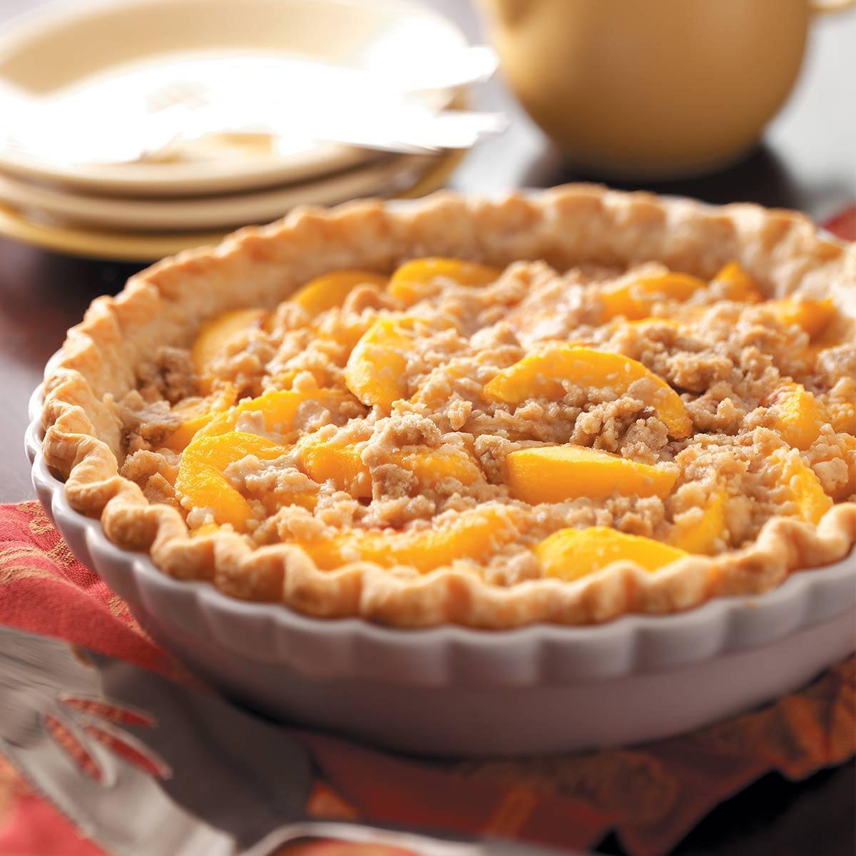 Peach Pie Recipes  Mom s Peach Pie Recipe
