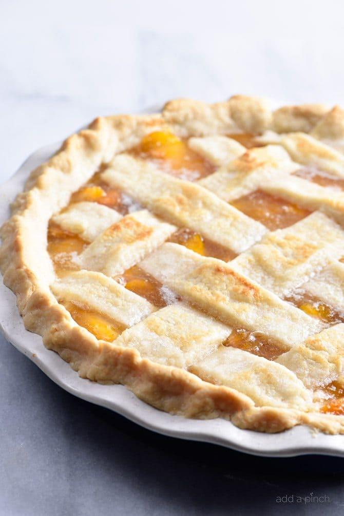 Peach Pie Recipes  double crust peach pie recipe