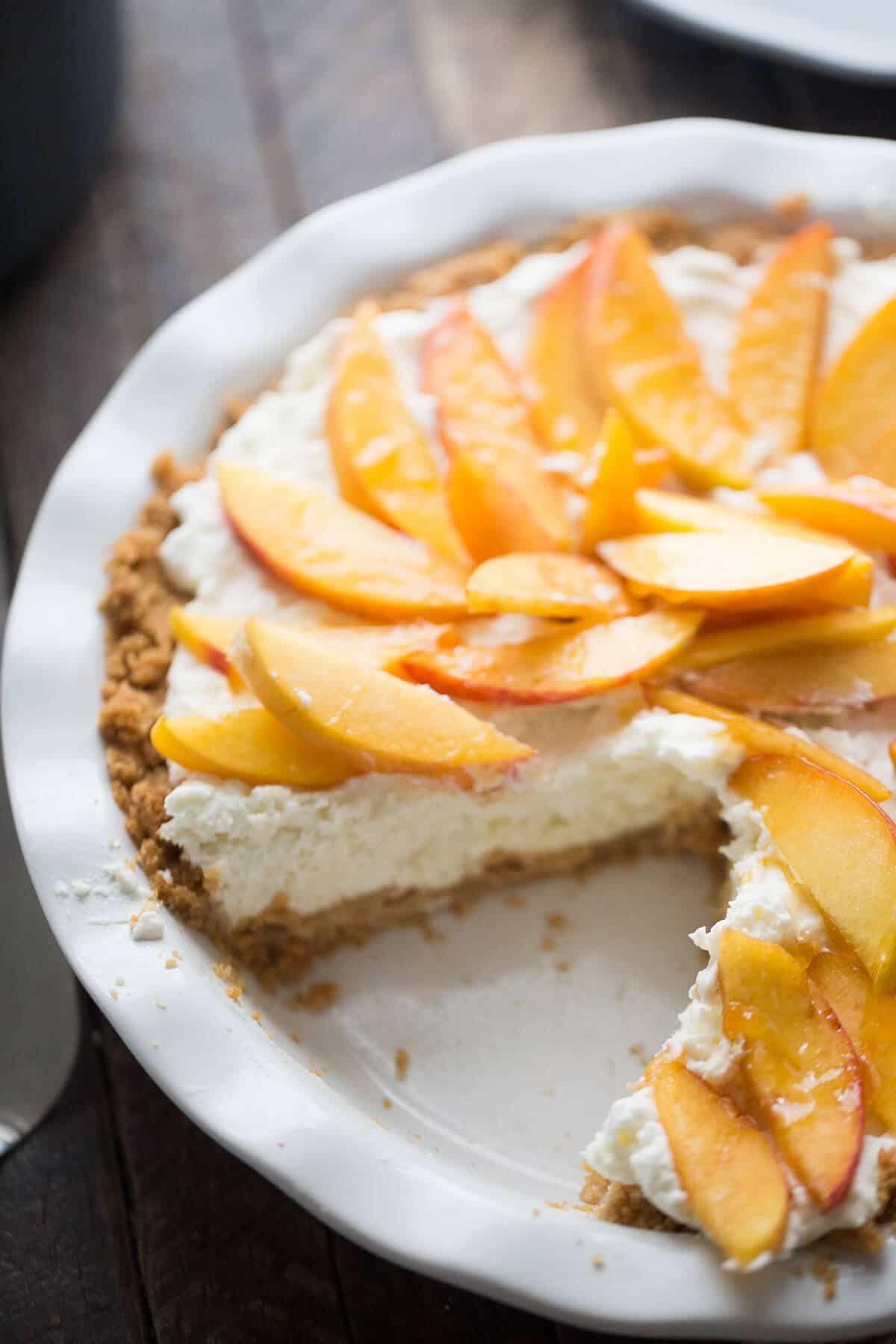 Peach Pie Recipes  fresh peach pie